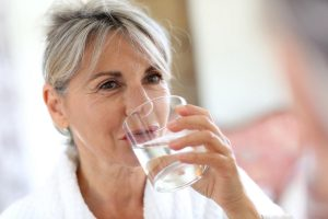 renset og vitaliseret vand